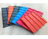 Spanish Style Synthetic Resin ASA Roofing Tile